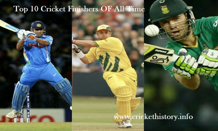Top 10 Best Finishers in Cricket History.  #top10 #crickethistory #msdhoni #abdevilliers #mikehussy