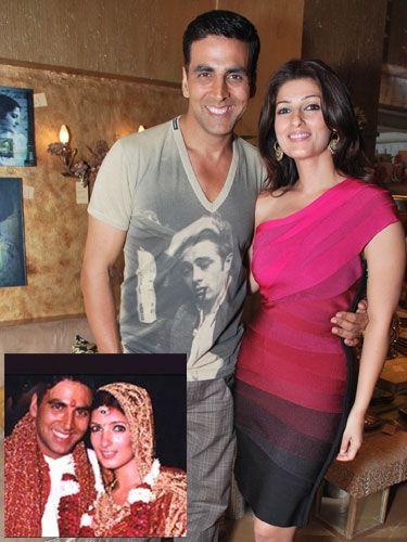 Akshay Kumar and Twinkle Khanna (January 17, 2001)