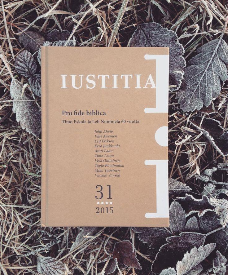 """""""STI:n Iustitia-sarjan uusin julkaisu on tänä vuonna 60 vuotta täyttävien Leif Nummelan ja Timo Eskolan juhlakirja. Lue lisää ja tilaa kirja täältä:…"""""""
