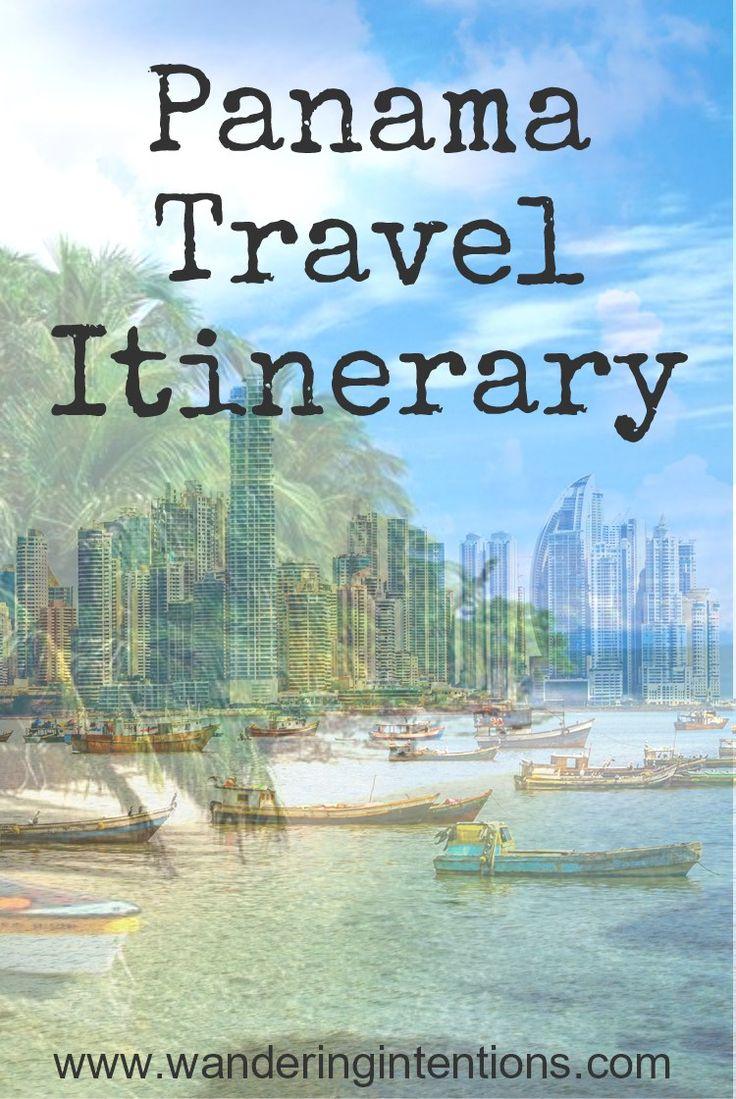 Panama Itinerary