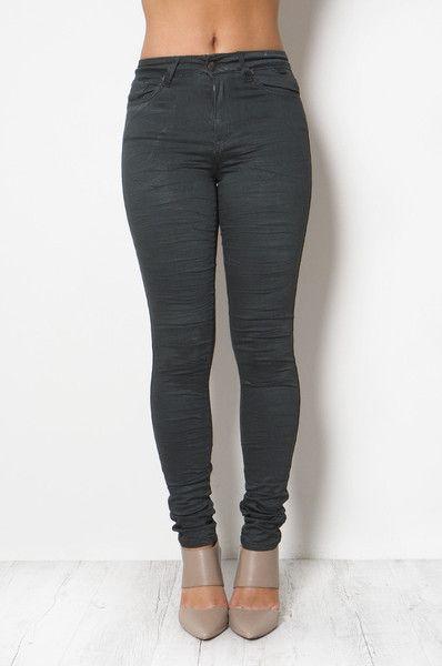 High Waist Khaki Gelato Legs // REFUGE DENIM
