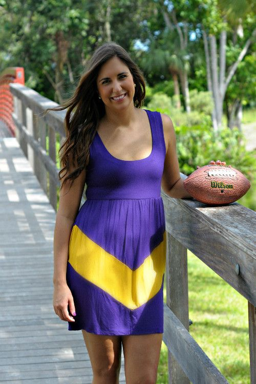 LUCKY ME PURPLE & GOLD GAME DAY DRESS - LSU Shop Simply Me Boutique – Simply Me Boutique