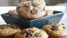 Zucchini Chocolate Chip Muffins!