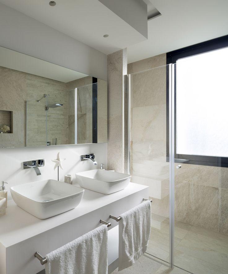 M s de 1000 ideas sobre ba o de doble lavabo en pinterest - Interiorismo banos modernos ...