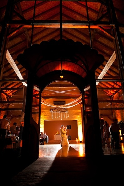 Beautiful elegant amber lighting on the dance floor. & 100 best Wedding Uplighting images on Pinterest | Lighting design ... azcodes.com