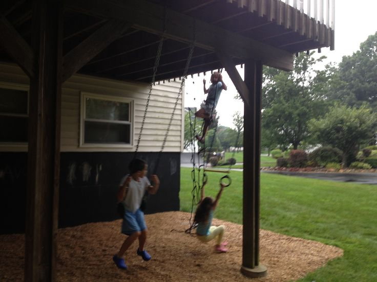 1000 Images About Under Deck Playground On Pinterest