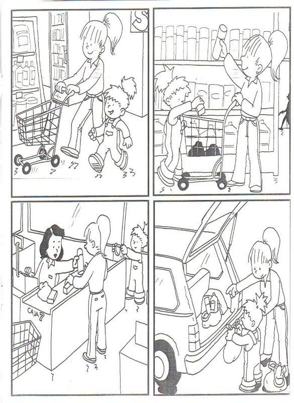 Images séquentielles : les courses