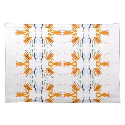 Design elemens gold on white placemat - golden gifts gold unique style cyo