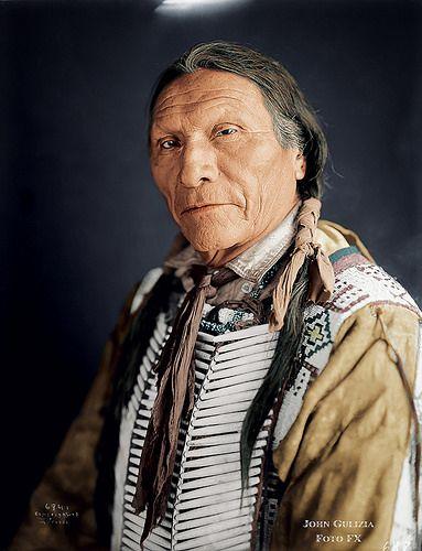 White Hawk. Cheyenne. 1905 | John Gulizia Foto FX