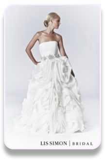 Lis Simon Wedding Dresses at Christianne Brunelle Couture