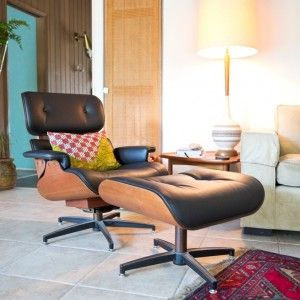 Eames Style Chair In Clients Living Room