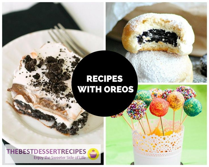 Dessert's Favorite Cookie: 38 Recipes with Oreos | TheBestDessertRecipes.com
