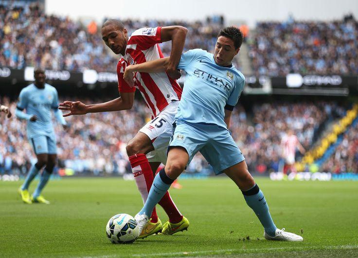 Samir Nasri - Manchester City v Stoke City 30th August 2014 #MCFC #SCFC #EPL