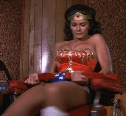 Wonder Woman After Her Spin Transformation While Being