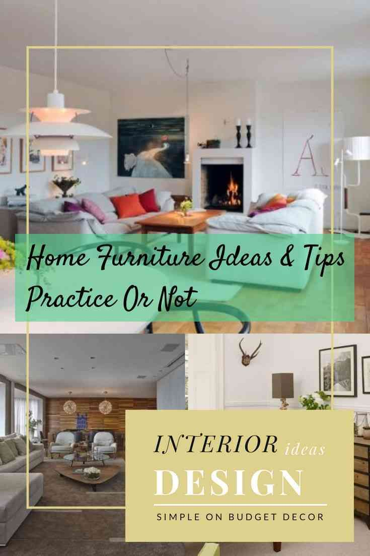 Advice to help you when it comes to furniture home decor on budget