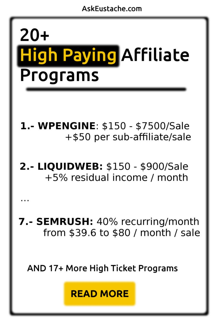 top ten money making affiliate programs John asked what are the most profitable niches for affiliate marketing health affiliate programs people are always looking for ways to make money so they will not stop looking.