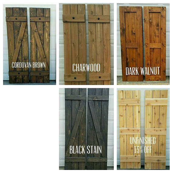 Best ideas about wood shutters on pinterest rustic