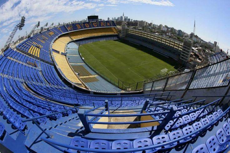 La Bombonera, Boca Juniors Stadium, La Boca,  Buenos Aires