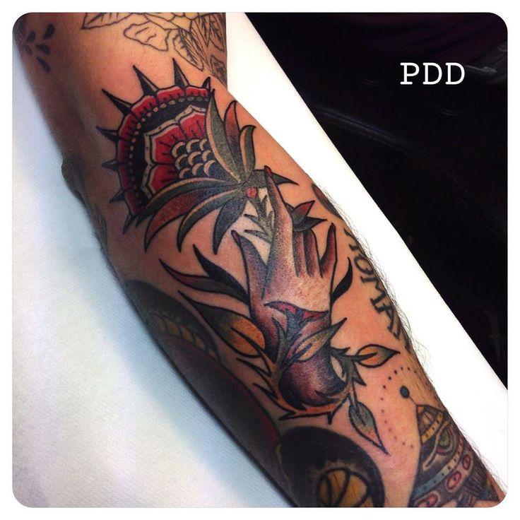 Tattoo by Pandido (Artribal, Lyon, France)