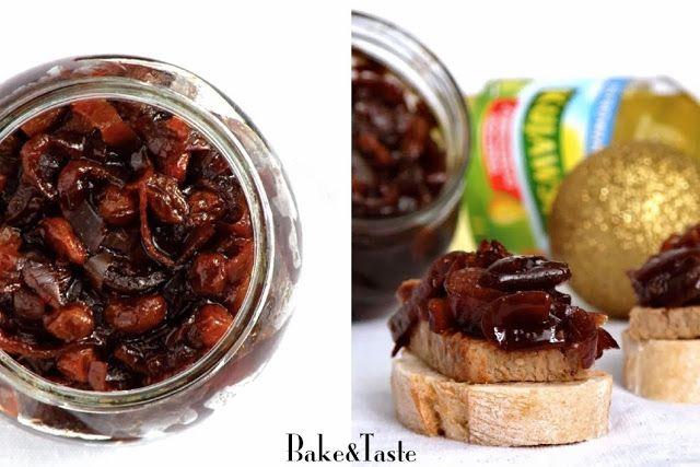 Bake&Taste: Chutney z czerwonej cebuli. Z jabłkami i rodzynkami