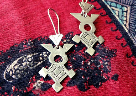Tuareg earrings tuareg jewelry Berber jewelry by CarmelaRosa