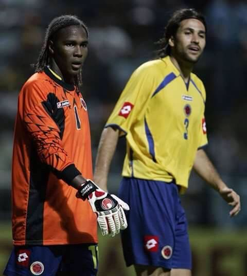 Momento histórico cuando Hugo Rodallega hizo de arquero con la Selección