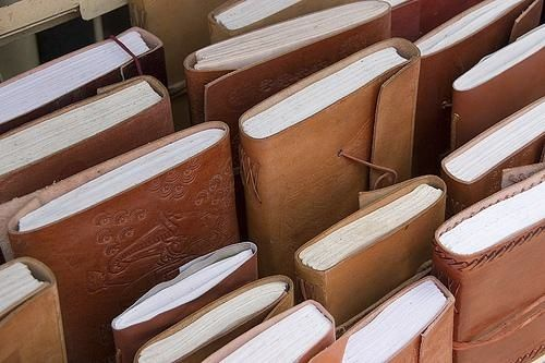 My husband does a lot of this- leather binding books