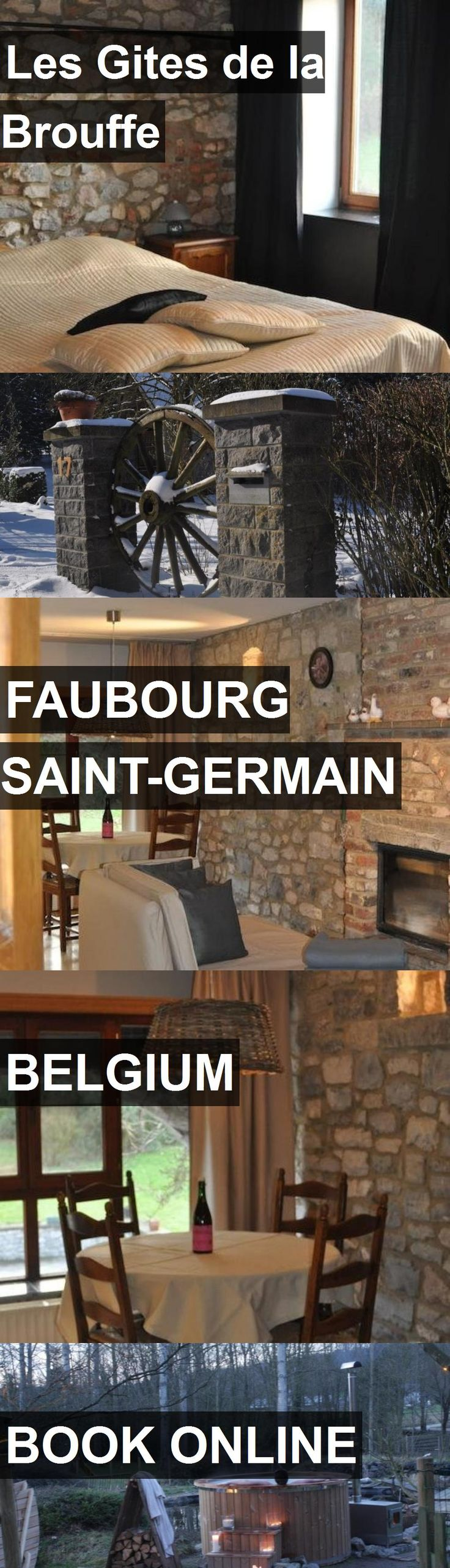Hotel Les Gites de la Brouffe in Faubourg Saint-Germain, Belgium. For more information, photos, reviews and best prices please follow the link. #Belgium #FaubourgSaint-Germain #LesGitesdelaBrouffe #hotel #travel #vacation