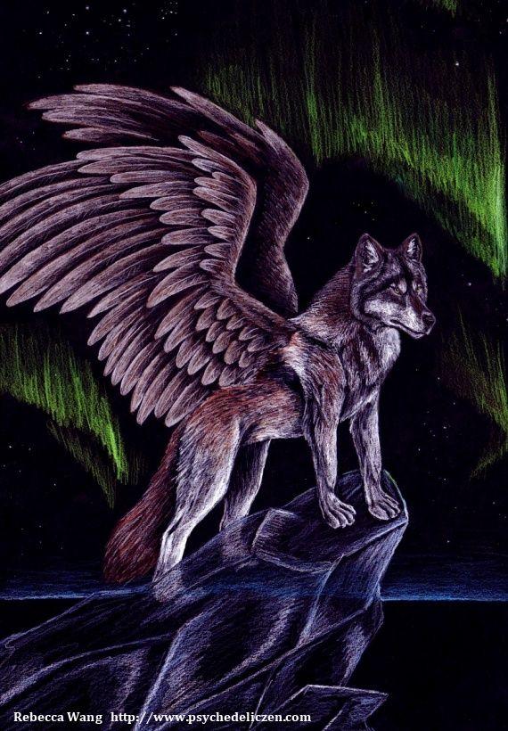 Spirit Wolf Wolf Spirit Animal Fantasy Wolf Anime Wolf