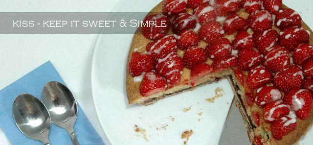 Strawberry Bakewell Tart