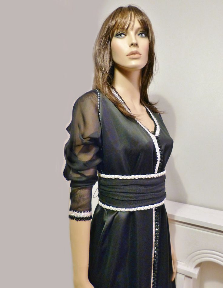 1000 images about caftan elna haute couture on pinterest for Caftan avec satin de chaise