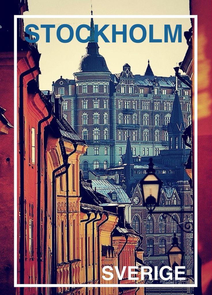 Stockholm - Phoster
