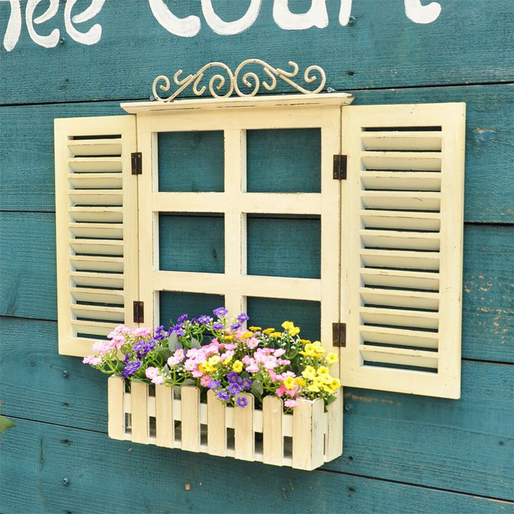 Find More Inserts & Cushions Information about European pastoral beauty of the French countryside Mediterranean fake wood window blinds decorative wall hangings wall hangings,High Quality window roller,China window candle Suppliers, Cheap blind track from wwwee on Aliexpress.com
