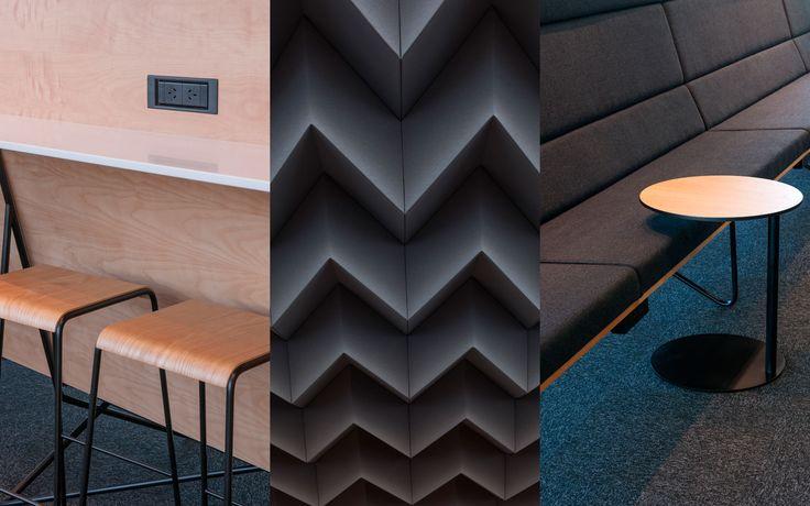 Hangover Table by Simon James Design @ Air New Zealand Koru Lounge Christchurch