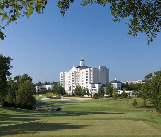 Golf Club at The Ballantyne Hotel Charlotte, NC.....beautiful course....love it!!!