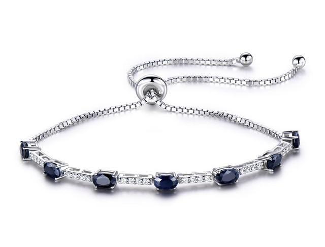 Sapphire bracelet-bracelets for women-women bracelet-silver bracelet-women bracelet silver