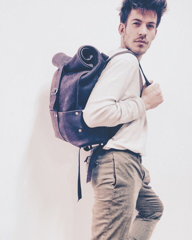 Hand made backpack avalble on Etsy