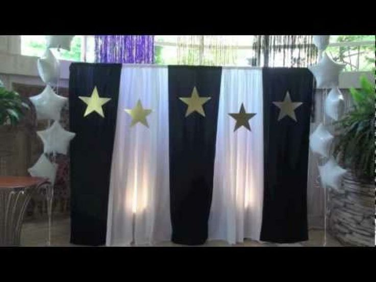 Prom decoration images create a special day for your for Backdrop decoration ideas