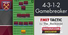 Football Manager 2017 Tactics - 4-3-1-2 Gamebreaker FM17 Tactic