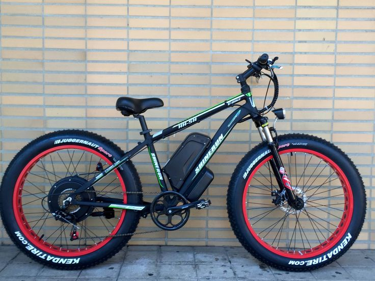 Fat Ebike (500W) Bicicleta Elétrica, Kit e-Bike