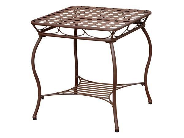 Santa Fe Iron Side Table