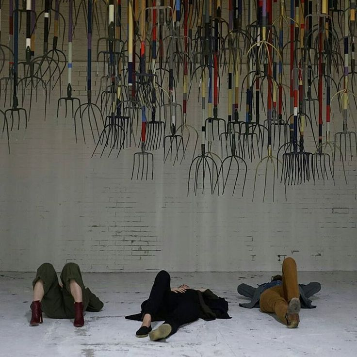"""Inhabiting a vacant industrial warehouse and lot in Los Angeles, the three-acre projectThe 14th Factoryis the brainchild ofSimon Birch. Birch and 20 others have created 14 linked spaces, including a replica room taken from """"2001: A Space Odyssey.""""See more on HiFructose.com. #simonbirch #hifructosemagazine #hifructose #installation #losangeles @the14thfactory"""