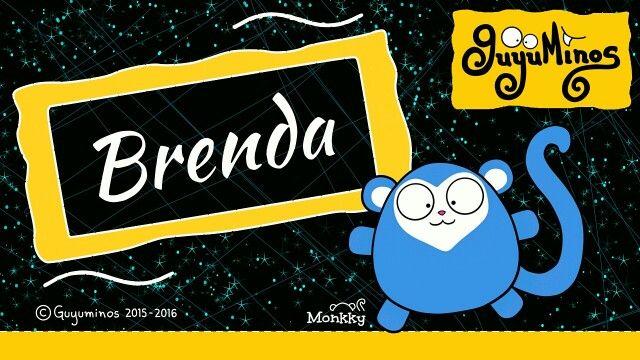 """Sabías que el nombre Brenda es de origen germano  y significa """"fuerte como una espada"""" :D  #nombres #brenda  #significado #guyuminos"""