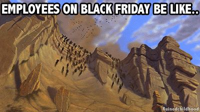 I don't shop on Black Friday, but I feel for the pour souls forced to herd the rampaging horde.