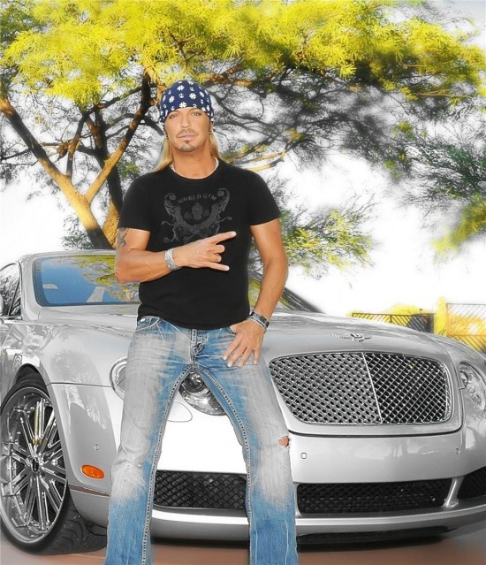 Bret Michaels with his 2004 Continental GT which recently sold at Barrett-Jackson
