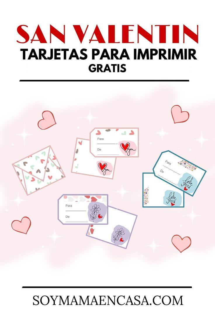9 best gratis para imprimir images on pinterest at home - Regalos de san valentin para el ...