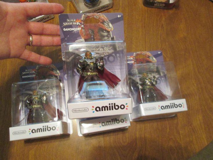 GANONDORF Amiibo FIGURE ZELDA SERIES [US] Super Smash Bros. Nintendo Wii U 3DS #Nintendo