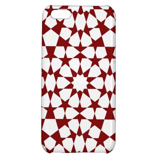 Islamic geometric pattern iphone case