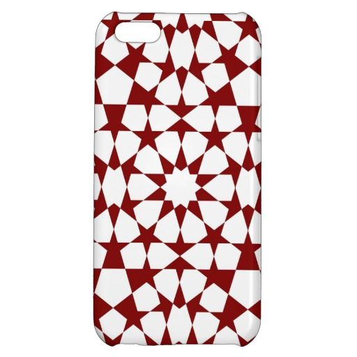 Islamic geometric pattern iphone case