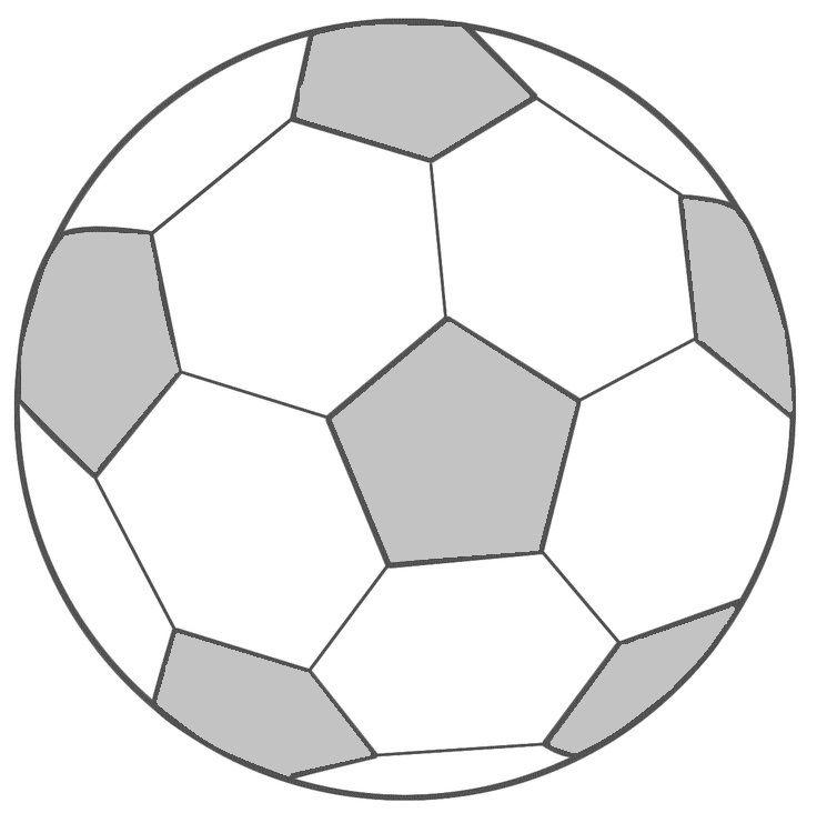 voetbal grijs